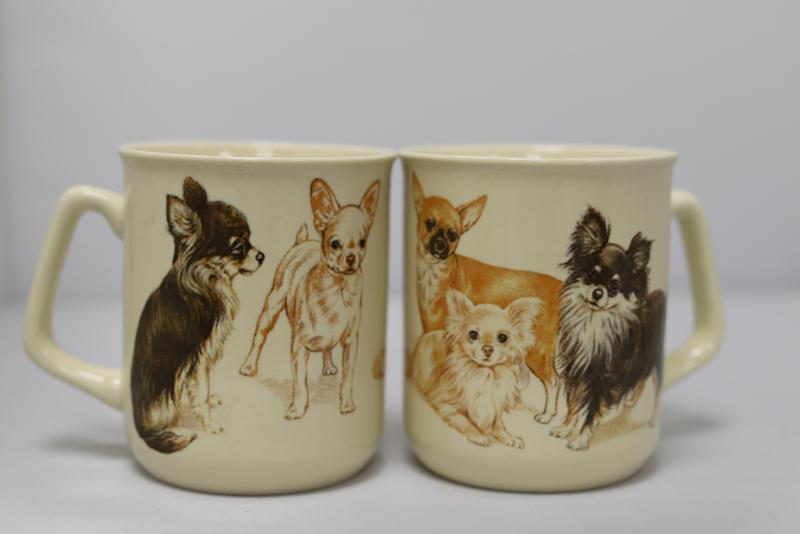 Mok met Chihuahua - set van 3 stuks