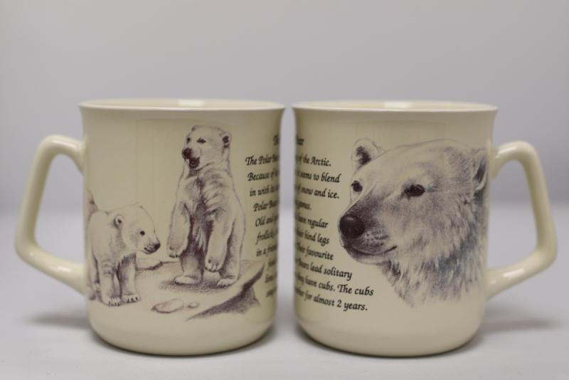 Mug Polar Bear - per 3 pieces