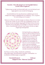Mandala, kleurrijke spiegel naar het dagelijks bestaan