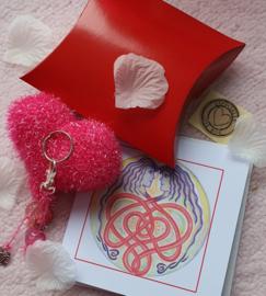 Hartcadeau roze