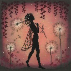 Lavina's Stamps Fairies - Dandelion Fairy
