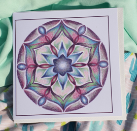 Mandalakaart Rozet