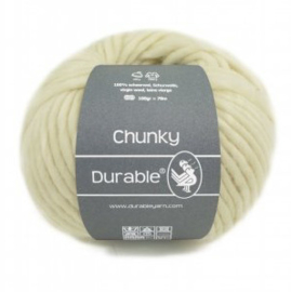 Durbale Chunky Scheerwol 326 Ivory