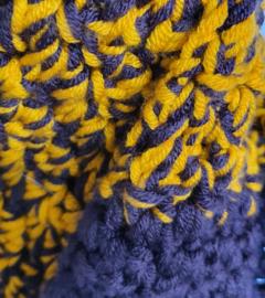 Brede sjaal / omslagdoek