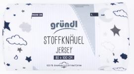 Grundl Stof Print 80 x 100 - Galaxy