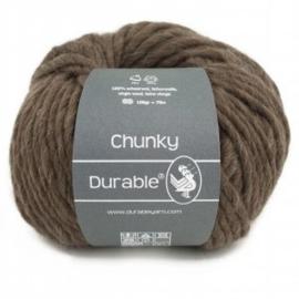 Durable Chunky  Scheerwol  2230 Dark Brown