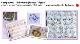 """EA-Creatief kussen babykamer """"Myrah"""" haakpakket"""