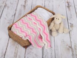 Haakpakket Baby Ripple Blankets 6 Kleurkeuzes