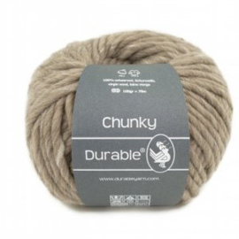 Durable Chunky  Scheerwol 340 Taupe