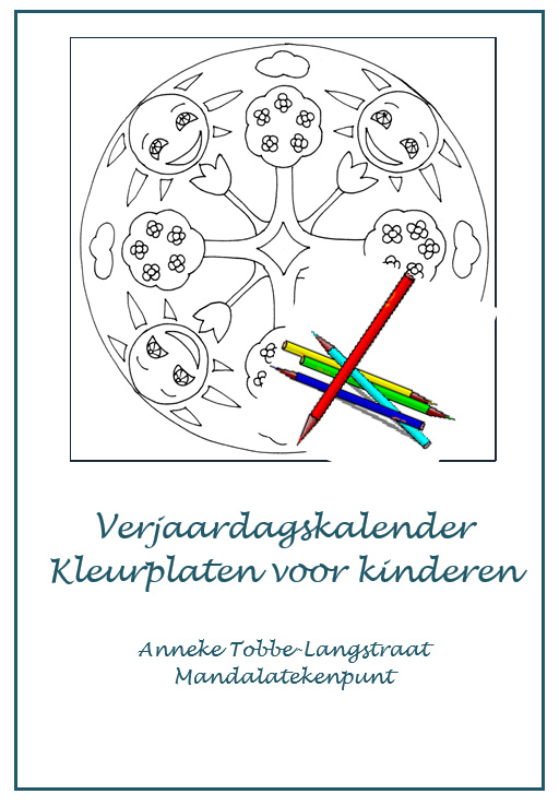 Mandala Verjaardagskalender voor kinderen
