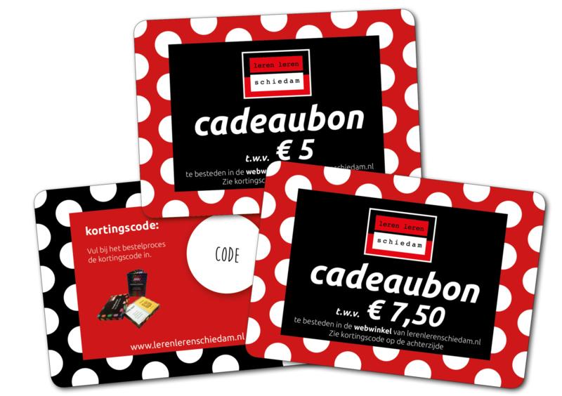 € 5,00 Cadeaubon