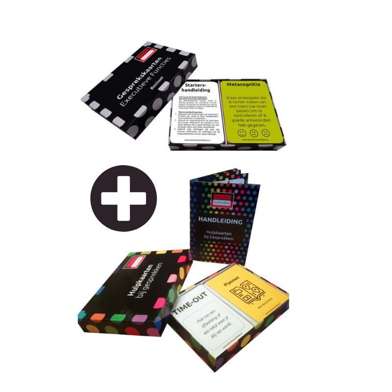 Hulpkaarten bij Gesprekken & Gesprekskaarten Executieve Functies - Voortgezet Onderwijs