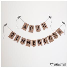 DIY Letterslinger Ohh Denneboom
