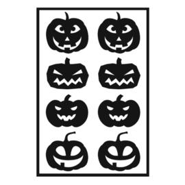 Traktatie stickers - pompoenen mix