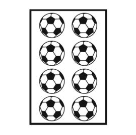 Traktatie stickers - voetbal