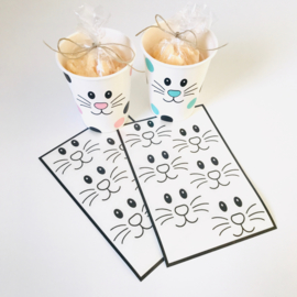 Deco-stickers - konijntjes
