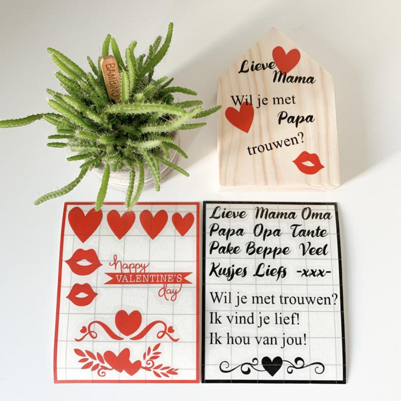 DIY Valentijn huisje