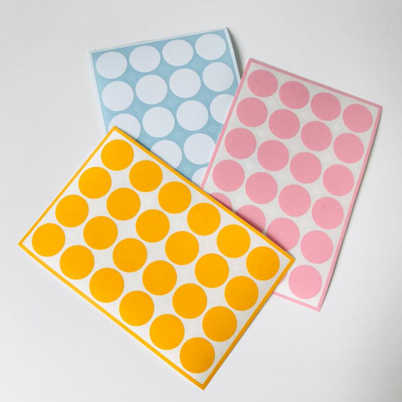Deco-stickers - stippen medium