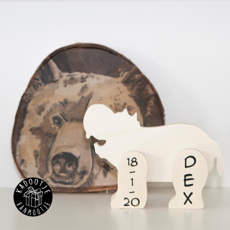 Houten Nijlpaard