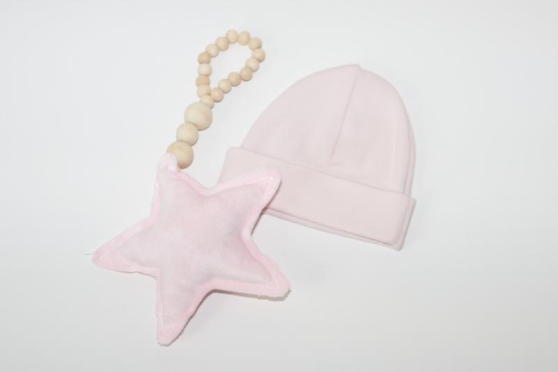 Ster hanger - roze