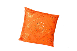 Oosters sierkussen  Phenkana 40x40 cm.  oranje