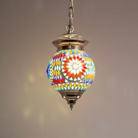 Oosterse hanglamp Bibi multi colour mozaïek