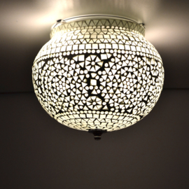 Oosterse mozaïek badkamer plafondlamp Pani - transparant