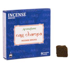 Wierook blokjes Nag Champa -100% natuurlijk