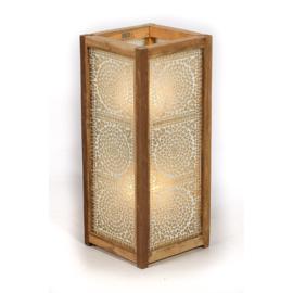 Vloerlamp mozaïek transparant  - 60 cm.