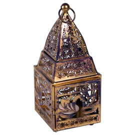 Oosterse sfeer lantaarn met Lotus symbool.