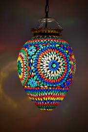 Oosterse mozaïek  hanglamp Carica - multi color