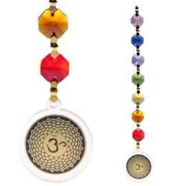Feng Shui hanger met de 7 chakra kleuren.
