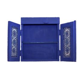 Oosters hangend kastje blue-blue