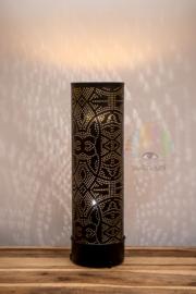 Vloerlamp Bibi filigrain - zwart - 65 cm.