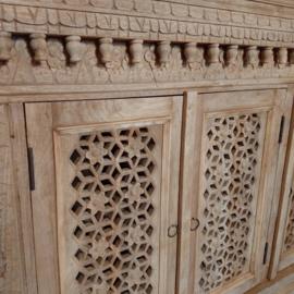 Oosters dressoir Mumbai naturel