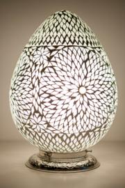 Oosterse mozaïek tafellamp Carica - transparant