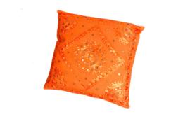 Oosters sierkussen Phenkana 50x50 cm. oranje