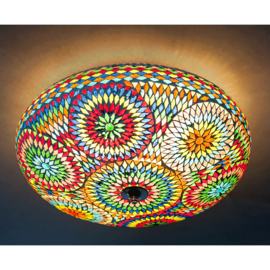Plafondlamp multi color - 50 cm. -Turks design