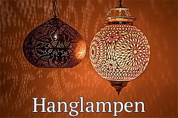 Hanglampen mozaïek en filigrain