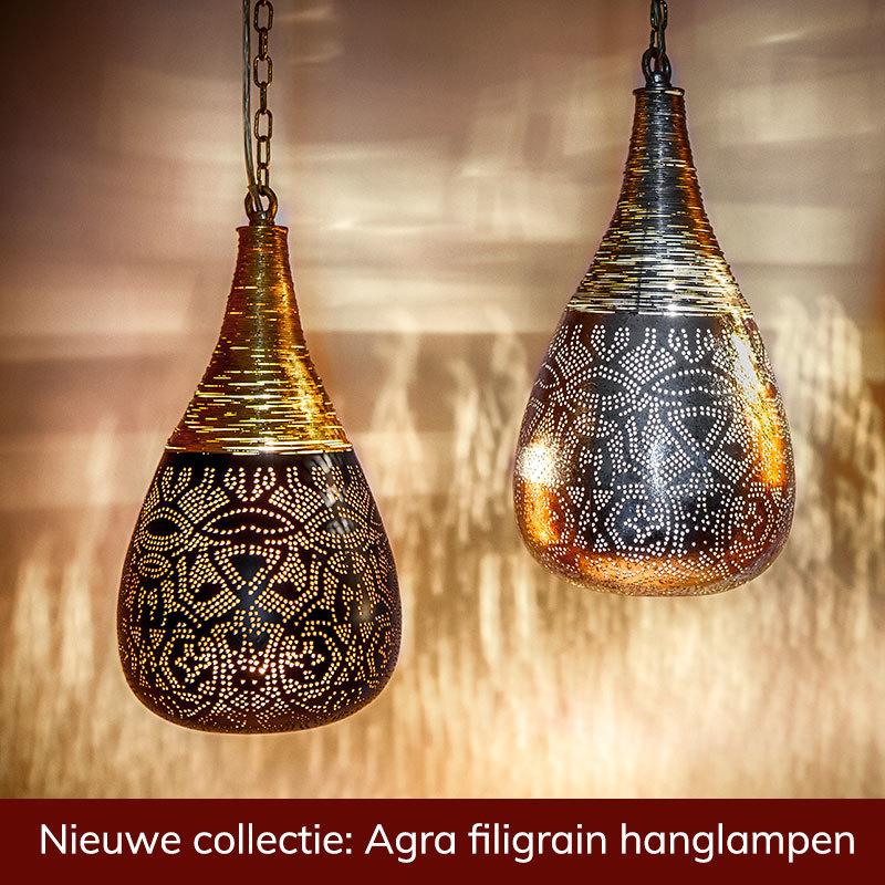 Oosterse filigran hanglampen