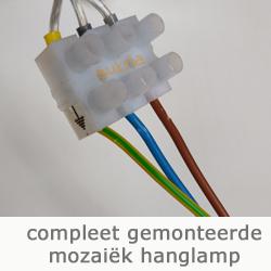 compleet aangesloten elektra hanglamp