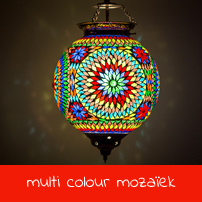 multi colour mozaïek