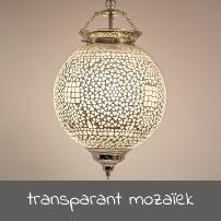 transparant mozaïek