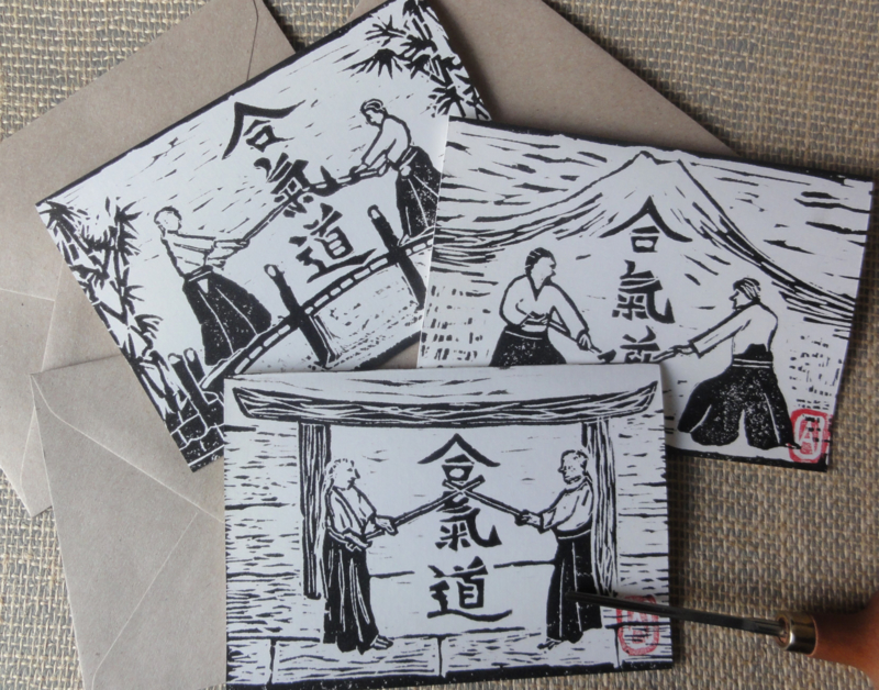Aikido set kaarten