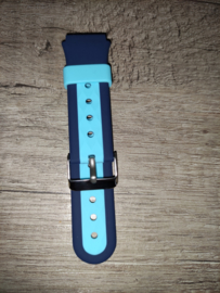 Bandje 4G horloge Blauw