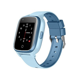 4G Kinder GPS Horloge met Take-off Alarm, SMS en Whatsapp, Blauw (Nieuwste model 2021)