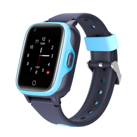4G Kinder GPS Horloge, Blauw
