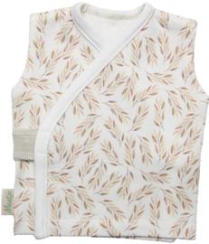 lief overslag hemdje met olijftakjes