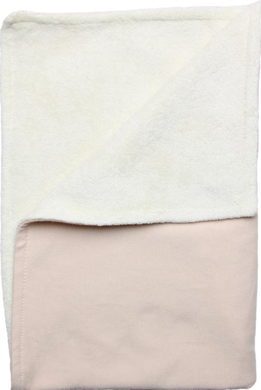 """Neutrale couveusedeken in een mooie """"nude"""" kleur"""