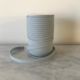 Paspel katoen 3mm dik - Ijsblauw/lichtgrijs